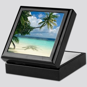 Tropical beach - Keepsake Box